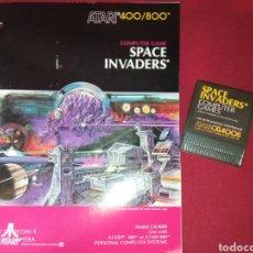 Videojuegos y Consolas: SPACE INVADERS 400/800 - ATARI 1981 -. Lote 267357119