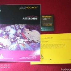 Videojuegos y Consolas: ASTEROIDS 400/800 - ATARI 1981 -. Lote 267357219
