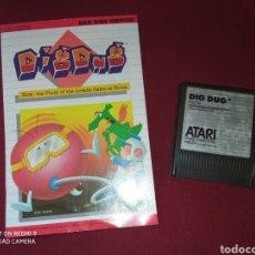 Videojuegos y Consolas: DIG DUG ATARI XE GS - NAMCO 1982 -. Lote 267357389