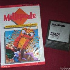 Videojuegos y Consolas: MILLIPEDE ATARI XE GS - ATARI 1984 -. Lote 267357449