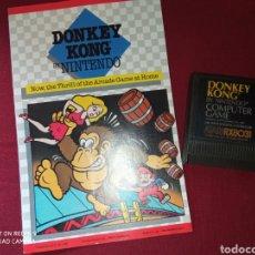 Videojuegos y Consolas: DONKEY KONG ATARI XE GS - NINTENDO 1981 -. Lote 267357669