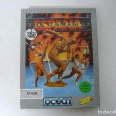 Videojuegos y Consolas: THE GAMES 92 ESPAÑA / CAJA CARTÓN / ATARI ST / STE / RETRO VINTAGE / DISCO - DISQUETE. Lote 267644124