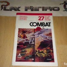 Videojogos e Consolas: MANUAL 27 COMBAT ATARI 2600 VERSION EUROPEA. Lote 275073118