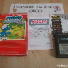 Videojuegos y Consolas: ATARI 2600 PITUFO LOS PITUFOS SMURFS SCHLUMPF GOOD CONDITION BOXED. Lote 275564063