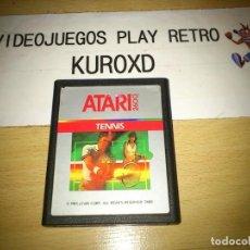 Videojuegos y Consolas: ATARI 2600 TENNIS CARTRIDGE GOOD CONDITION. Lote 275646723