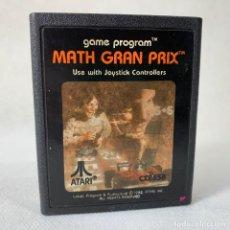 Videojuegos y Consolas: VIDEOJUEGO ATARI 2600 - MATH GRAN PRIX - AÑO 1982. Lote 276664703
