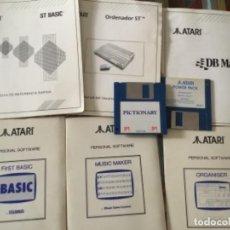 Videojuegos y Consolas: ATARI JUEGOS Y MANUAL DE USUARIO LOTE. Lote 277138678