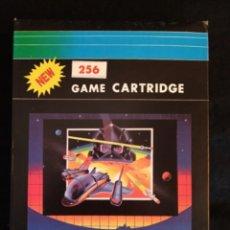 Videojuegos y Consolas: CARTUCHO PARA CONSOLA ATARI 2600. COMPILACIÓN DE 256 JUEGOS EN 1 CARTUCHO. Lote 278179068