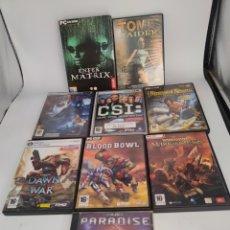 Videojogos e Consolas: LOTE 9 VIDEOJUEGOS PC ATARI. Lote 286374303