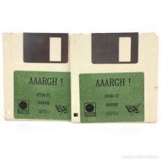 Videojuegos y Consolas: AAARGH ! DRO SOFT ESPAÑA AVENTURA ARCADE 1989 - VINTAGE JUEGO RETRO INFORMATICA ATARI ST DISKETTE 3½. Lote 286990733