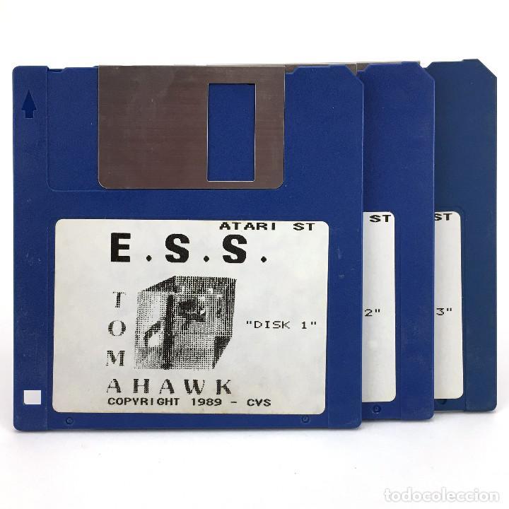 E.S.S. TOMAHAWK COKTEL VISION 1989 EUROPEAN SPACE SIMULATOR VINTAGE JUEGO RETRO ATARI ST DISKETTE 3½ (Juguetes - Videojuegos y Consolas - Atari)