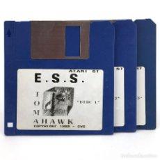 Videojuegos y Consolas: E.S.S. TOMAHAWK COKTEL VISION 1989 EUROPEAN SPACE SIMULATOR VINTAGE JUEGO RETRO ATARI ST DISKETTE 3½. Lote 287397428