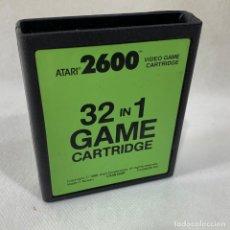 Videojogos e Consolas: JUEGO ATARI 2600 - 32 IN 1 - GAME CARTRIDGE - 1988. Lote 287458673