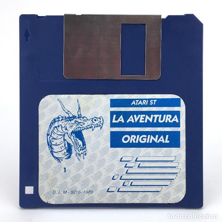 LA AVENTURA ORIGINAL DISCO 1 AVENTURAS AD DINAMIC SOFTWARE CONVERSACIONAL JUEGO ATARI ST DISKETTE 3½ (Juguetes - Videojuegos y Consolas - Atari)
