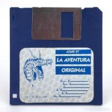 Videojuegos y Consolas: LA AVENTURA ORIGINAL DISCO 1 AVENTURAS AD DINAMIC SOFTWARE CONVERSACIONAL JUEGO ATARI ST DISKETTE 3½. Lote 288119853