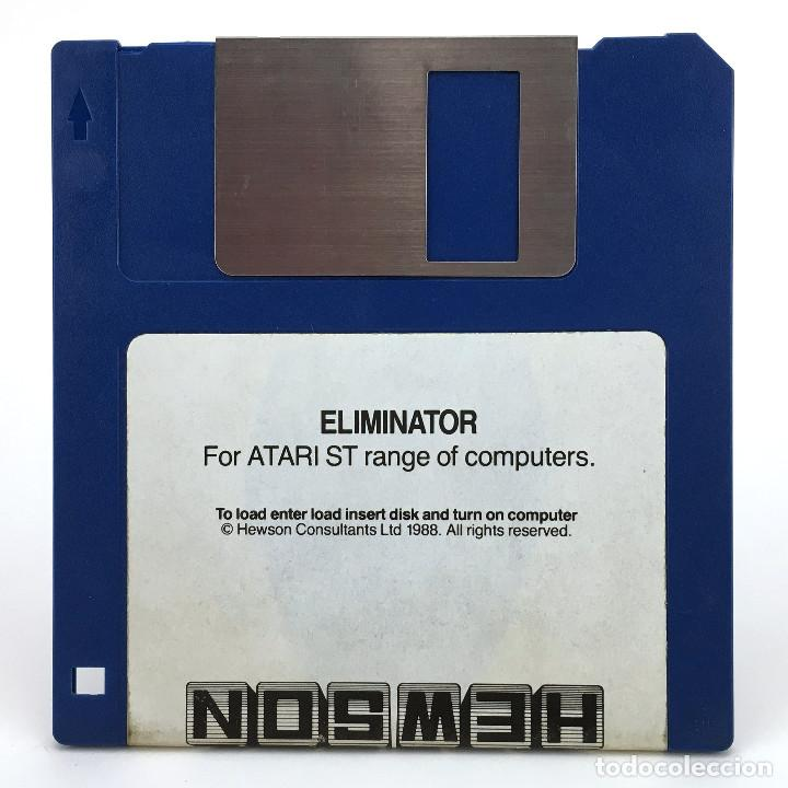 ELIMINATOR - HEWSON CONSULTANTS 1988 RETRO GAMING RARE DISK VINTAGE JUEGO RETRO ATARI ST DISKETTE 3½ (Juguetes - Videojuegos y Consolas - Atari)