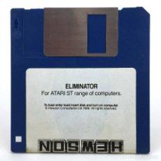 Videojuegos y Consolas: ELIMINATOR - HEWSON CONSULTANTS 1988 RETRO GAMING RARE DISK VINTAGE JUEGO RETRO ATARI ST DISKETTE 3½. Lote 288120593