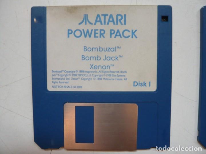 BOMBUZAL, BOMB JACK, XENON - SOLO DISCO / ATARI ST / STE / RETRO VINTAGE / DISCO - DISQUETE (Juguetes - Videojuegos y Consolas - Atari)