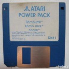Videojuegos y Consolas: BOMBUZAL, BOMB JACK, XENON - SOLO DISCO / ATARI ST / STE / RETRO VINTAGE / DISCO - DISQUETE. Lote 288361898