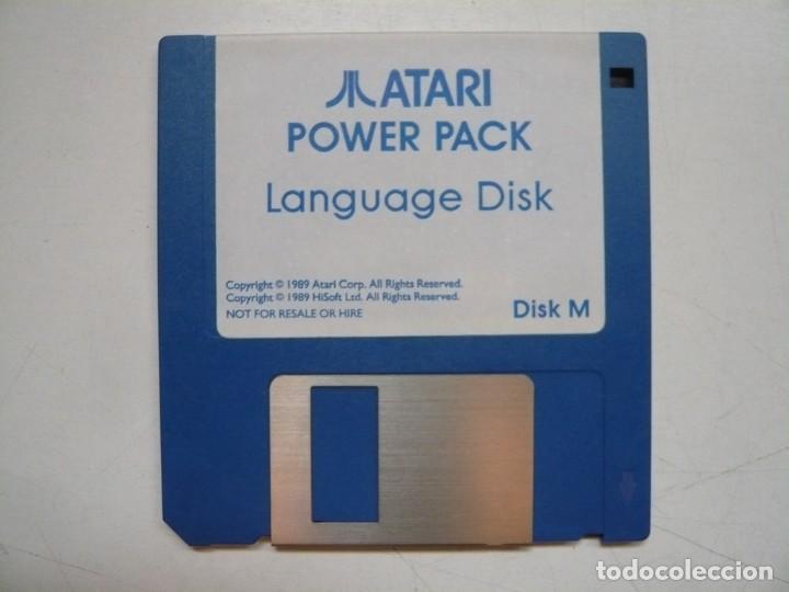 LANGUAGE DISK - SOLO DISCO / ATARI ST / STE / RETRO VINTAGE / DISCO - DISQUETE (Juguetes - Videojuegos y Consolas - Atari)