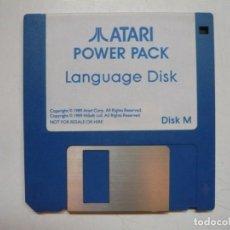 Videojuegos y Consolas: LANGUAGE DISK - SOLO DISCO / ATARI ST / STE / RETRO VINTAGE / DISCO - DISQUETE. Lote 288361998