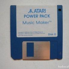 Videojuegos y Consolas: MUSIC MAKER - SOLO DISCO / ATARI ST / STE / RETRO VINTAGE / DISCO - DISQUETE. Lote 288362068