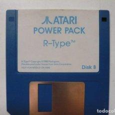 Videojuegos y Consolas: R-TYPE - SOLO DISCO / ATARI ST / STE / RETRO VINTAGE / DISCO - DISQUETE. Lote 288362153