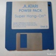 Videojuegos y Consolas: SUPER HANG-ON - SOLO DISCO / ATARI ST / STE / RETRO VINTAGE / DISCO - DISQUETE. Lote 288362283