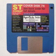 Videojuegos y Consolas: ST FORMAT, COVER DISK 74 - SOLO DISCO / ATARI ST / STE / RETRO VINTAGE / DISCO - DISQUETE. Lote 288362338