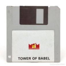 Videojuegos y Consolas: TOWER OF BABEL MCM ESPAÑA RAINBIRD 1990 JUEGO ESTRATEGIA 3D ARCADE PUZZLE RETRO ATARI ST DISKETTE 3½. Lote 288586753