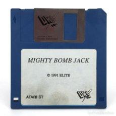 Videojuegos y Consolas: MIGHTY BOMB JACK DRO SOFT SPAIN TECMO ELITE 1991. VIDEO JUEGO RETRO INFORMATICA ATARI ST DISKETTE 3½. Lote 288586998