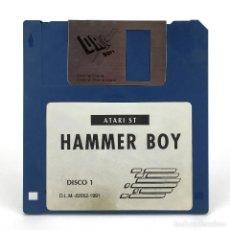 Videojuegos y Consolas: HAMMER BOY / DINAMIC SOFTWARE ESPAÑA 1991 ADDICTIVE ARCADE DISCO 1 JUEGO RETRO ATARI ST DISKETTE 3½. Lote 288587013
