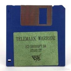 Videojuegos y Consolas: TELEMARK WARRIOR - DRO SOFT ESPAÑA SILICOM GAMES 1989 JUEGO ESPAÑOL GREEN BERET ATARI ST DISKETTE 3½. Lote 289484313