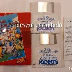 Videojuegos y Consolas: THE NEWZEALAND STORY. 2 DISKETTES. ATARI ST. AÑO 1989. Lote 293555553