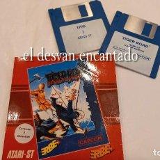 Videojuegos y Consolas: TIGER ROAD. 2 DISKETTES. ATARI ST. AÑO 1989. Lote 293555893