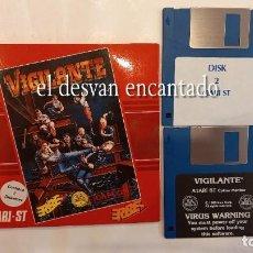 Videojuegos y Consolas: VIGILANTE. 2 DISKETTES. ATARI ST. AÑO 1989. Lote 293556018