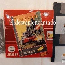Videojuegos y Consolas: VINDICATORS. 2 DISKETTES. ATARI ST. AÑO 1989. Lote 293556148