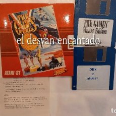 Videojuegos y Consolas: THE GAMES. 2 DISKETTES. ATARI ST. AÑO 1989. Lote 293556253
