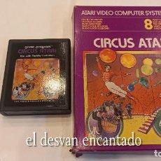 Videojuegos y Consolas: CIRCUS ATARI. ANTIGUO JUEGO ATARI. Lote 294447068