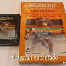 Videojuegos y Consolas: BREAKOUT. ANTIGUO JUEGO ATARI. Lote 294447263