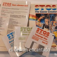 Videojuegos y Consolas: STOS. THE GAME CREATOR. ANTIGUO JUEGO ATARI. Lote 294447728