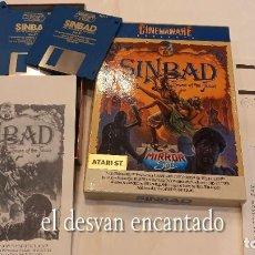 Videojuegos y Consolas: SINBAD.. ANTIGUO JUEGO ATARI. Lote 294448118