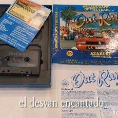 Videojuegos y Consolas: OUT RUN. ANTIGUO JUEGO ATARI ST. Lote 294448798