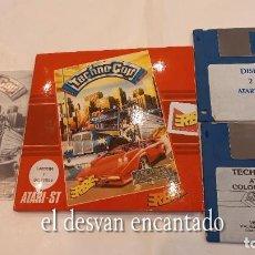 Videojuegos y Consolas: TECHNO COP. ANTIGUO JUEGO ATARI ST. Lote 294450443