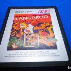 Videojuegos y Consolas: KANGAROO JUEGO PARA ATARI 2600 PAL CARTUCHO EN. Lote 294502748