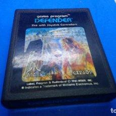 Videojuegos y Consolas: DEFENDER JUEGO PARA ATARI 2600. Lote 294503443