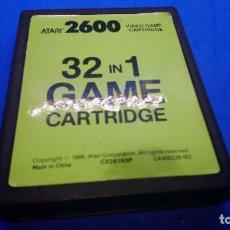Videojuegos y Consolas: 32 JUEGOS EN 1 PARA ATARI 2600 CX 32 IN 1 PAL. Lote 294506668