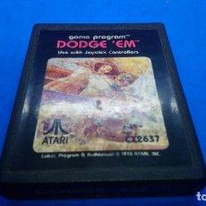 Videojuegos y Consolas: DODGE 'EM JUEGO PARA ATARI 2600. Lote 294506748