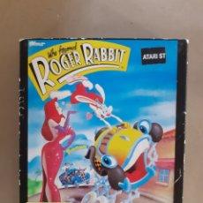 Videojuegos y Consolas: ATARI VIDEOJUEGO ROGER RABBIT 1987. Lote 296581553