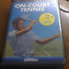 Videojuegos y Consolas: ON COURT TENNIS-JUEGO EN CINTA PARA COMMODORE 64- ORIGINAL DE ACTIVISION. Lote 26790820